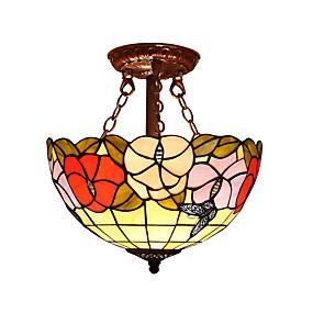 billige Tiffany Lamper-Takplafond Omgivelseslys - LED designere, Tiffany, 110-120V 220-240V Pære ikke Inkludert