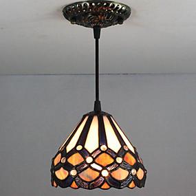 povoljno Ingyen szállítás-Privjesak Svjetla Downlight Slikano završi Metal Glass Mini Style 110-120V / 220-240V / E26 / E27