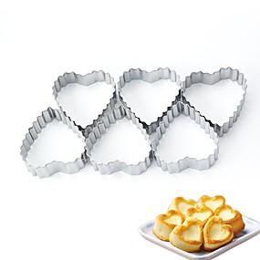 billige Kjeksverktøy-Bakeware verktøy Metall Jul Bursdag Nyttår Til Småkake 1pc