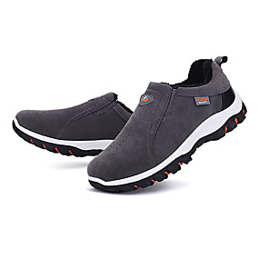 baratos Sapatos Esportivos Masculinos-Homens Camurça Primavera / Outono Tênis Aventura Antiderrapante Preto / Amarelo / Cinzento / EU41