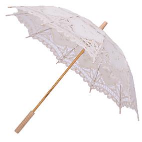 """levne Deštníky-rovná rukojeť Svatební Denní Plážové Deštník Deštníky 78 cm (cca 30,7"""")"""