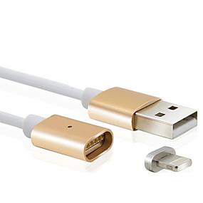 ieftine Accesorii Apple-Iluminare Cablu / Cablu Încărcător / Date & Sincronizare Normal / Magnetic Cablu  iPad / Apple / iPhone pentru 100 cm Pentru Plastic