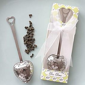 abordables Cadeaux Utiles pour Invités-Fête du thé Acier inoxydable Parfums pour Fête du thé Thème classique