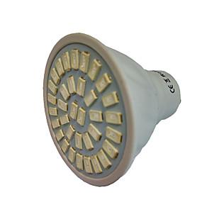 billige LED Økende Lamper-2 W LED-drivhuslamper 99-222 lm GU10 GU5.3(MR16) E27 MR16 35 LED perler SMD 5733 Rød Blå 220 V 110 V / 1 stk. / RoHs