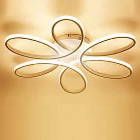 hesapli Gömme Montaj-Doğrusal Gömme Montajlı Işıklar Ortam Işığı Boyalı kaplamalar Metal Silika Jel LED 110-120V / 220-240V Sıcak Beyaz / Beyaz / Uzaktan Kumandayla Kısılabilir