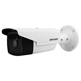 cheap Brand Salon-HIKVISION® DS-2CD2T43G0-I8 DS-2CD2T35FWD-I8 3MP Ultra-Low Light IP Camera (80m IR 12VDC PoE H.265 IP67 Built-in SD Slot 128G Motion Detection)