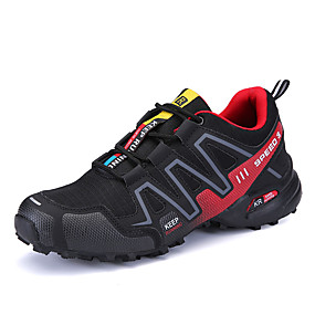 cheap Running Shoes-Men's Light Soles PU(Polyurethane) Spring / Fall Athletic Shoes Running Shoes Gray / Black / Red