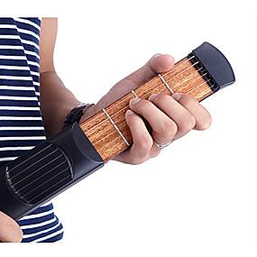 cheap Musical Instruments-Professional Trainer / Pocket Guitar Ammoon Guitar / Acoustic Guitar Material / ABS Portable / Pocket / Fun Musical Instrument Accessories