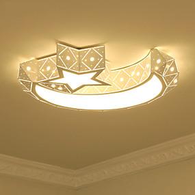 tanie Mocowanie przysufitowe-Podtynkowy Światło rozproszone Malowane wykończenia Metal Akryl Zawiera żarówkę 110-120V / 220-240V Ciepła biel / Biały Źródło światła LED w zestawie / LED zintegrowany