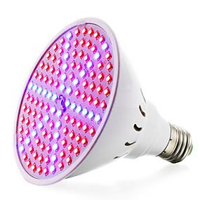 halpa LED-kasvatusvalot-kasvaa lamppuja kasvi- ja hydroponics-järjestelmään 8w (90red + 36blue) e27 (85-265v) 780-935lm