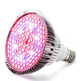 billige LED Økende Lamper-1pc 24 W Voksende lyspære 4000-5000 lm E26 / E27 120 LED perler SMD 5730 Varm hvit Rød Blå 85-265 V / 1 stk. / RoHs / FCC