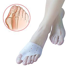 Χαμηλού Κόστους Ταξίδια-Πόδι Toe Διαχωριστικό & κάλο Pad Ανακούφιση του πόνου ποδιών Γιλέκο για σωστή στάση του σώματος Προστατευτικό Ορθωτικά Άνετο