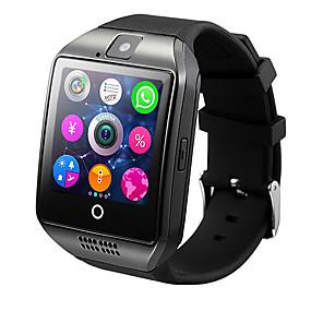 ieftine Discover-smartwatch q18 pentru Android ios bluetooth monitor ritm cardiac sport caloric sportiv ars camerometru pedometru ceas deșteptător
