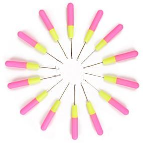 billige Verktøy og tilbehør-Hairextension-verktøy Porselen Spesialbruk Mikroringnåler 10 pcs Daglig Klassisk Rosa