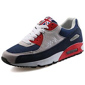 baratos Sapatos Esportivos Masculinos-Homens Sapatos Confortáveis Couro Ecológico Primavera / Outono Tênis Caminhada Preto / Branco / Preto / Cinzento / EU40