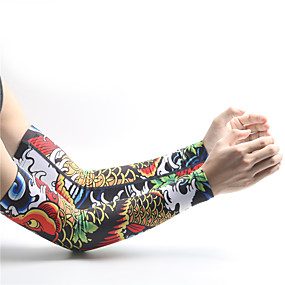 cheap Armwarmers & Leg Warmers-XINTOWN Cycling Sleeves Armwarmers Lightweight Sunscreen UV Resistant Breathable Comfort Bike / Cycling for Men's Women's Adults' Road Bike Mountain Bike MTB Fishing Golf Basketball Pattern 1 Pair