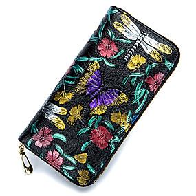levne Kožené kabelky-Dámské Tašky Kůže Peněženky Zip Duhová. Dámské Tašky  Kůže Peněženky Zip Duhová 6feb5a75b2