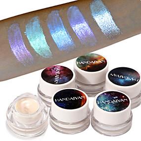 billige Øjenskygger-1 stk glitter højdepunkt øjenskygge pulverpalette høj lys øjenskygge kosmetisk makeup