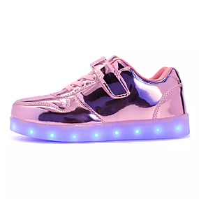 new arrivals d4b75 97c2d Girls' Shoes PU(Polyurethane) Fall / Winter Comfort / Light Up Shoes  Sneakers Lace-up / LED for Green / Pink / Royal Blue / TR / EU36