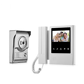 povoljno Telefon s video vratima-XSL-V43E168 Žičano 4.3 inch Hands-free 480*272 Pixel One to One video doorphone