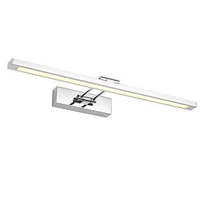 billige Vanity-lamper-55cm 12w moderne kortmetall ledet speil lampe stue kabinett lys baderom belysning sminke belysning ac100-240v