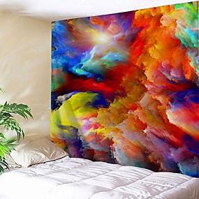 billige Wall Tapestries-Arkitektur Vægdekor polyester Vintage Vægkunst, Wall Gobeliner Dekoration