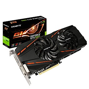 billige Grafikkort-GIGABYTE Video Graphics Card GTX1060 MHz 8008 MHz 3 GB / 192 bit GDDR5
