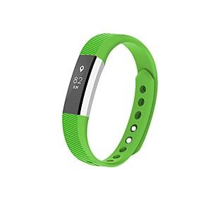 voordelige Smartwatch-accessoires-Horlogeband voor Fitbit Alta Fitbit Moderne gesp Silicone Polsband