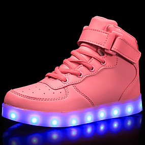 832294cd2 Boys    Girls  Shoes Customized Materials   Leatherette   PU Spring   Fall  Comfort   Light Up Shoes Sneakers Walking Shoes Lace-up   Hook