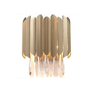 billige Krystall Vegglys-QIHengZhaoMing Krystall LED / Moderne / Nutidig Vegglamper Stue / Leserom / Kontor Metall Vegglampe 110-120V / 220-240V 3W