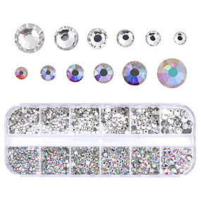 ieftine Artă de Unghii-1 pcs Nail Art Drill Kit Cristal nail art pedichiura si manichiura Nuntă / Petrecere / Seară / Zilnice Metalic