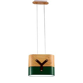 billige Hengelamper-ZHISHU Geometrisk Anheng Lys Nedlys Malte Finishes Metall Mini Stil, Trefarget 110-120V / 220-240V Varm hvit + hvit Pære Inkludert / Integrert LED