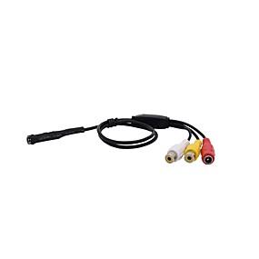 cheap CCTV Cameras-CMOS 600TVL Audio Infrared Night Vision Mini Camera CCTV Security Camera Pinhole Camera Size Φ7x24mm CMOS Endoscope Camera