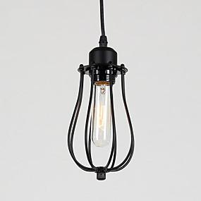 abordables Plafonniers-Mini Lampe suspendue Lumière d'ambiance Finitions Peintes Métal Ajustable 110-120V / 220-240V Ampoule non incluse / E26 / E27