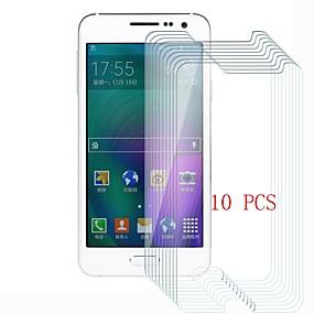 abordables Protectores de pantalla para celular-Protector de pantalla para Samsung Galaxy A5 Vidrio Templado 10 piezas Protector de Pantalla Frontal Dureza 9H / Anti-Arañazos