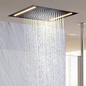 cheap Clearance-Contemporary Rain Shower Ti-PVD Feature - Rainfall / New Design, Shower Head