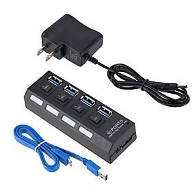 cheap Computer Peripherals-4 USB Hub USB 3.0 USB 3.0 High Speed Data Hub