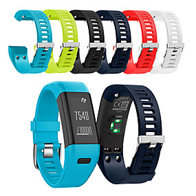 billige Smartwatch Bands-Klokkerem til Vivosmart HR+(Plus) Garmin Sportsrem Silikon Håndleddsrem