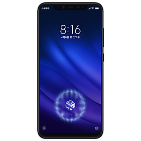 "رخيصةأون Smartphones-Xiaomi Mi8 pro CN 6.21 بوصة "" 4G هاتف ذكي (6GB + 128GB 12 + 12 mp Snapdragon 845 3000 mAh mAh)"