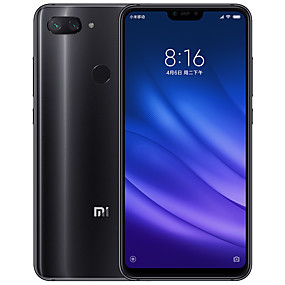 "رخيصةأون Smartphones-Xiaomi Mi8 Lite Global Version 6.26 بوصة "" 4G هاتف ذكي (4GB + 64GB 5 mp / 12 mp Snapdragon 660 3350 mAh mAh)"
