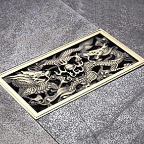 abordables Evacuation-Drainage Design nouveau / Cool Antique Laiton 1pc Montée au sol