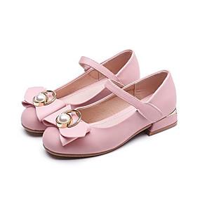 Κοριτσίστικα Παπούτσια PU Άνοιξη   Χειμώνας Λουλουδάτα φορέματα για  κορίτσια Τακούνια Φιόγκος για Παιδιά   Εφηβικό Μαύρο   Μπεζ   Ροζ cd2263b7330