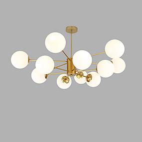 billige Takbelysning og vifter-Sputnik Lysekroner Omgivelseslys Gylden Malte Finishes Metall Glass Kreativ 110-120V / 220-240V
