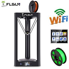 tanie Discover-Flsun-qq pre-assembly delta drukarki 3d duży rozmiar druku 260 * 260 * 370mm ekran dotykowy wifi wsparcie auto niwelowanie podgrzewane łóżko