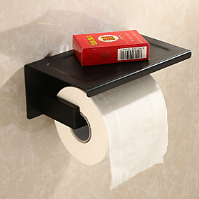 cheap Toilet Paper Holders-Toilet Paper Holder New Design / Cool Modern Metal 1pc Wall Mounted