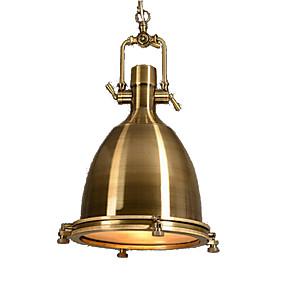 abordables Plafonniers-QINGMING® Mini Lampe suspendue Lumière dirigée vers le bas Plaqué Finitions Peintes Métal Verre Style mini 110-120V / 220-240V