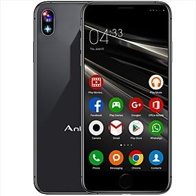"""abordables Teléfonos con funciones-Card Phone i8 """" Smartphone 3G (1GB + 8GB 5 mp / Linterna / N / A MediaTek MT6580 980 mAh mAh)"""