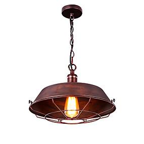 abordables Plafonniers-Mini Lampe suspendue Lumière dirigée vers le bas Finitions Peintes Métal Style mini 110-120V / 220-240V