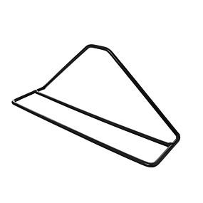 baratos Sapateiras & Cabides de Sapato-Sapateiras & Cabides Ferro Forjado 1 par Unisexo Preto