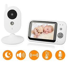 billige IP-kameraer-didseth® 0.3 mp baby monitor cmos / micro / pan og tilt 131 ° ° c nattesynsområde 5 m 0 ghz